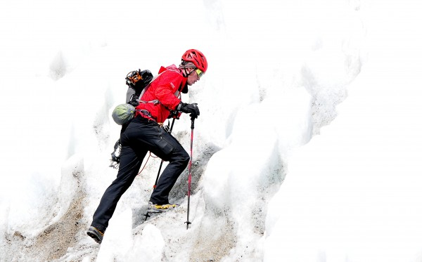 Chad moving out across icefall