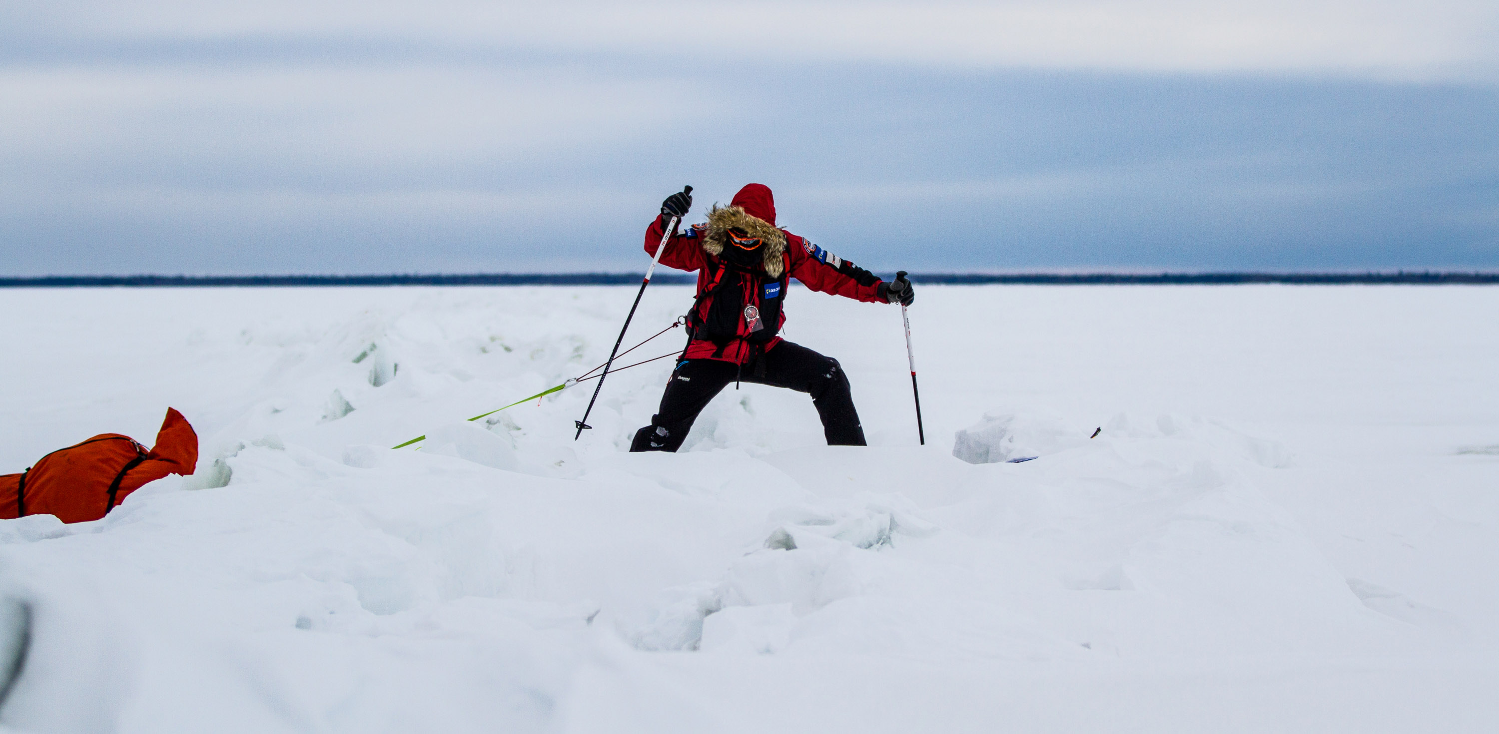 In 2010 he became the first person in history to complete expeditions to the South Pole North Pole and summit of Everest in a 365-day ... & Eric Larsen Heads for North Pole on u0027Last Northu0027 Expedition - The ...