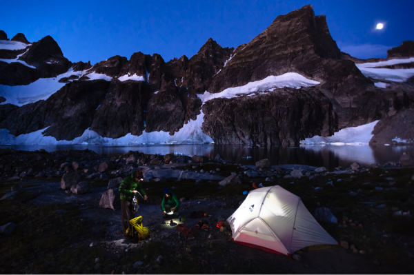 MSR Hubba Hubba NX tent marketing campaign photo. Photo credit: Garrett Grove