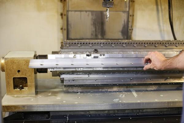 Snow Picket on CNC machine.