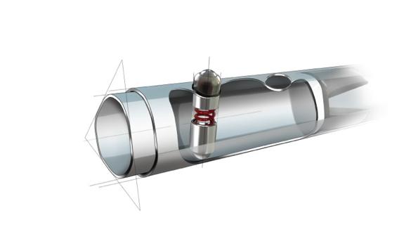 SureLock Push-Button Positive Locking Mechanism