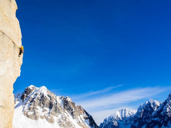 Matt Henry on a brilliant bit of crack climbing. Photo: ©Scott Rinckenberger