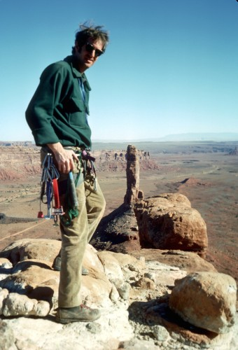 Big-wall climber and mountaineer Bill Forrest (MSR photo archives).