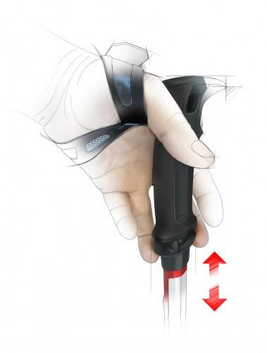 Trigger Release One-Handed Adjustment