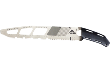 Making Better Snow Tools: the MSR Snow Saw Legacy - The
