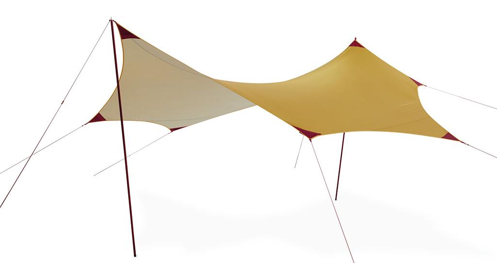 MSR Rendezvous camping tarp