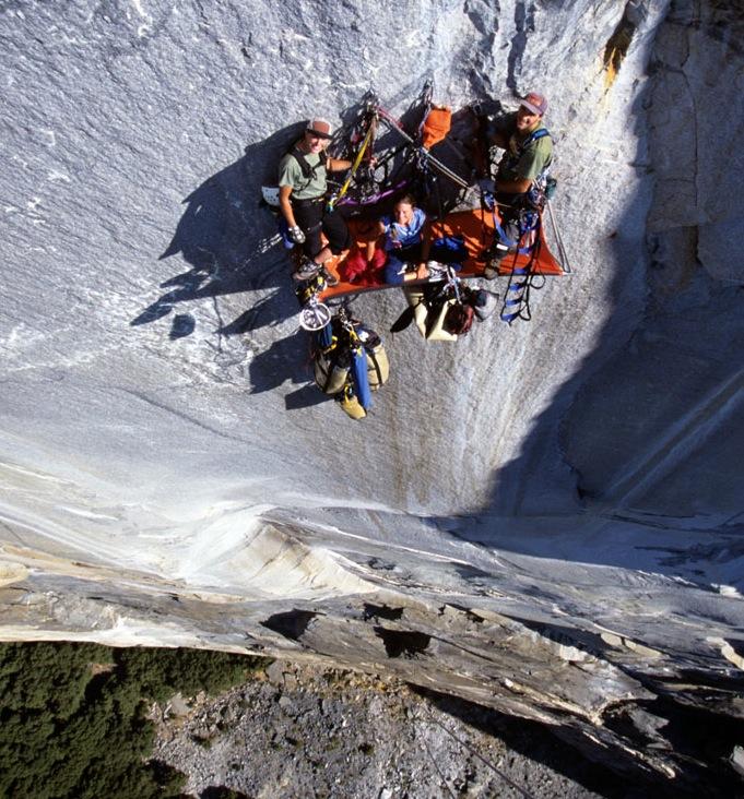 Steph Davis Big Wall Climb