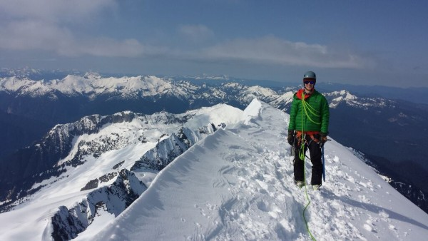 Eldorado Peak climbing