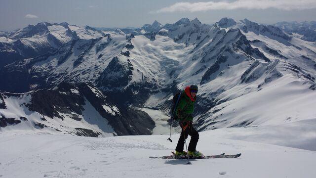 Eldorado Peak skiing