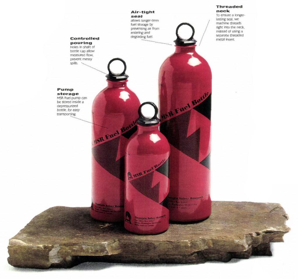 Fuel Bottles Key Features