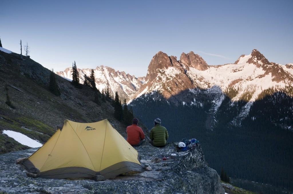 MSR Tent Care - Photo: Mike Tittel