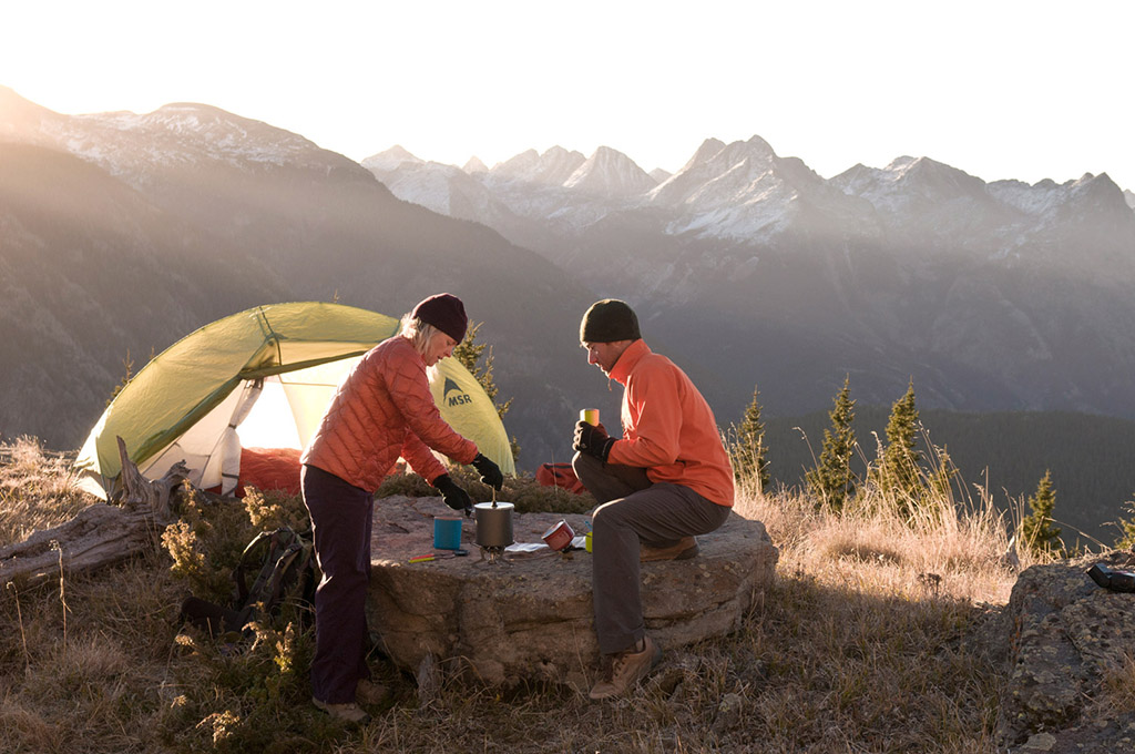cooking in the backcountry