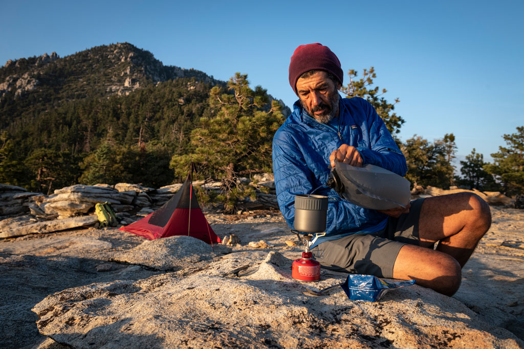 Cutting Food Weight on a Long-Distance Backpack