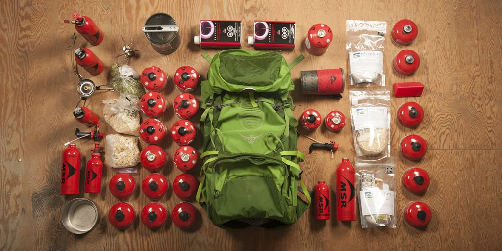 how much fuel should you carry in a backpack