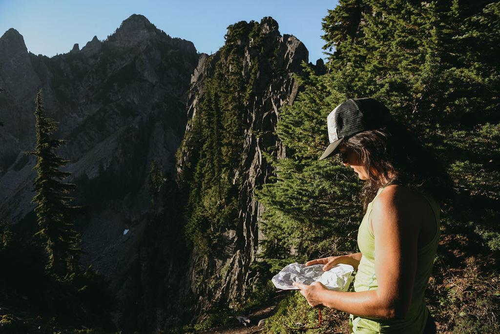 navigating alpine climbing