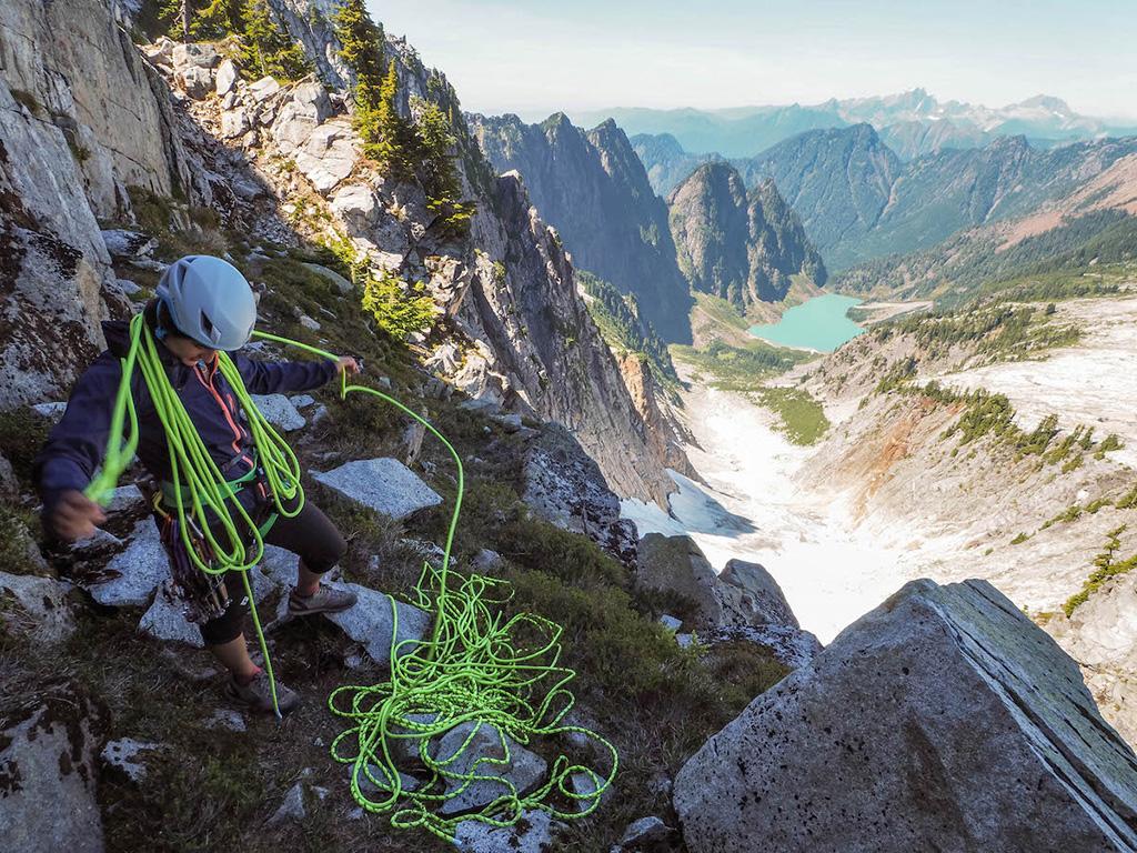 alpine climbing trip