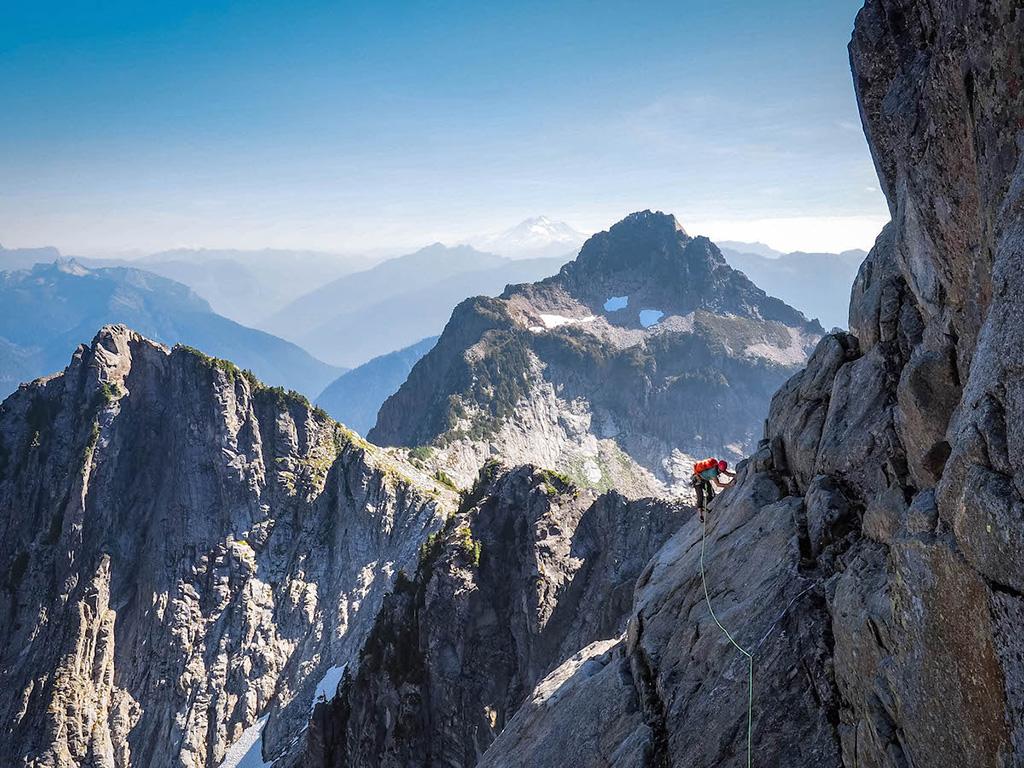 first alpine climbing trip
