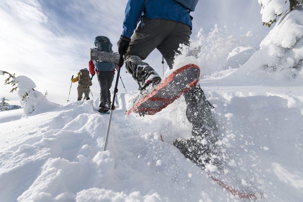 Lightning vs Revo - MSR Snowshoes