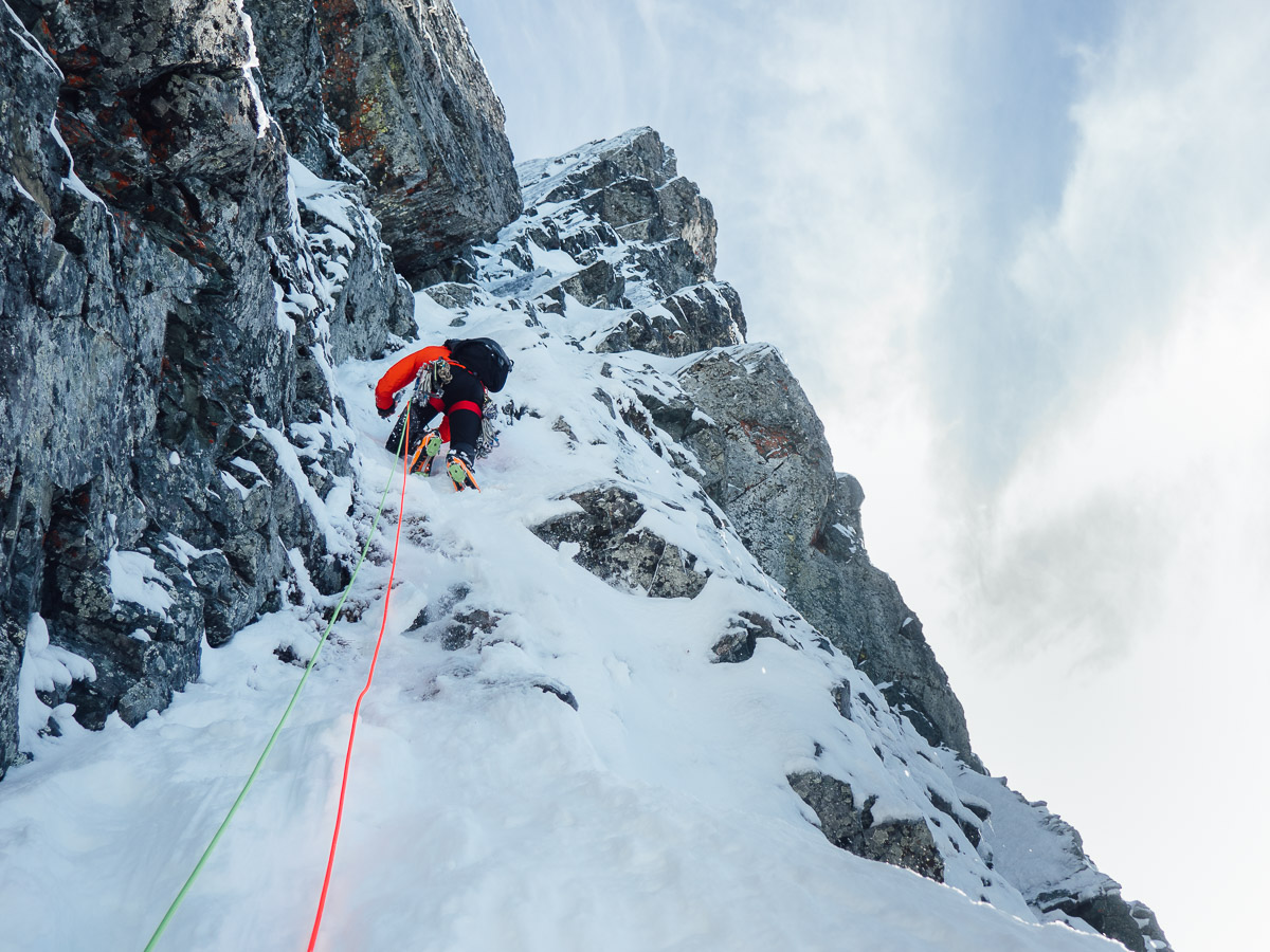 Steep, technical winter climbing doesn't have to be what you pursue. Choose the proper challenge for YOU.