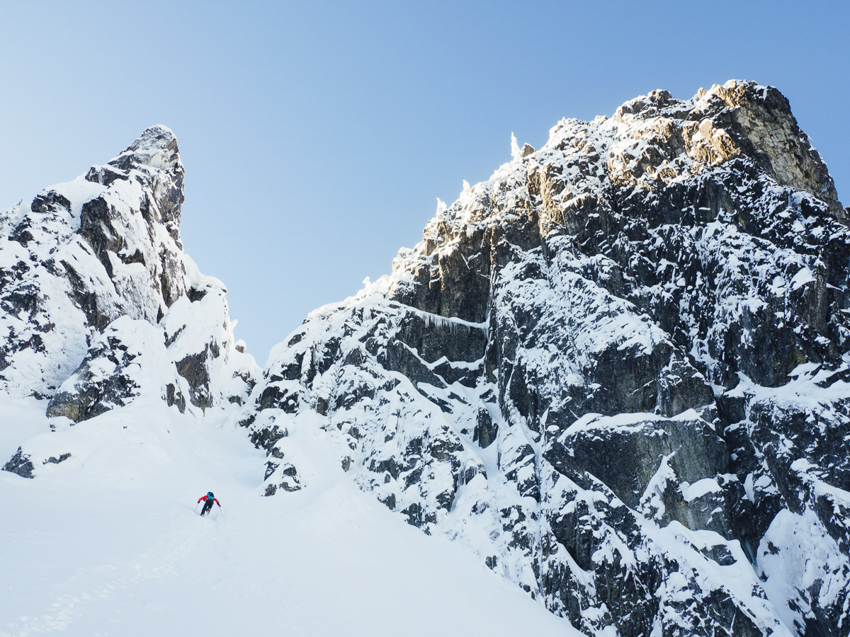 """Not all winter climbing outings have to be """"epics"""". Find something within your comfort level to boost confidence."""