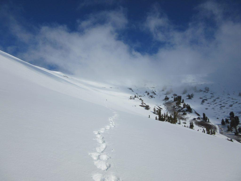 Thru-Hiking Snow