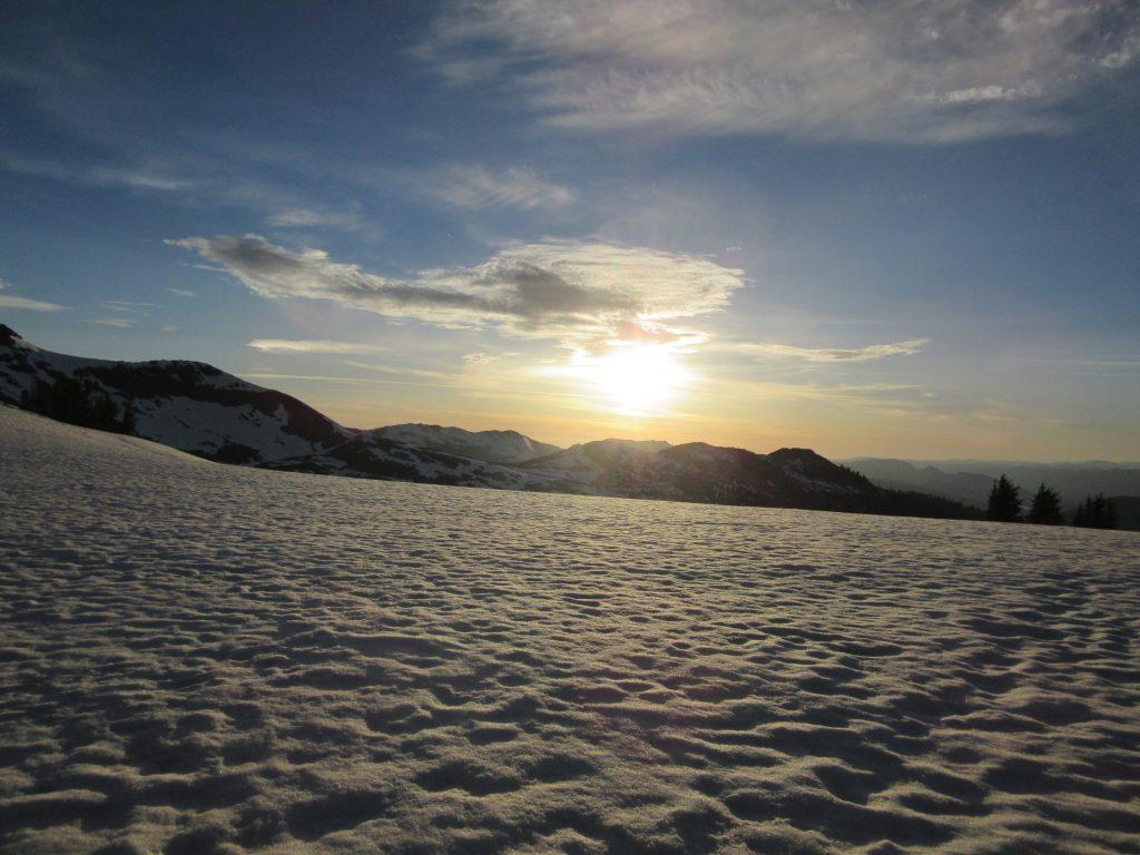 Thru-Hiking Snow PCT