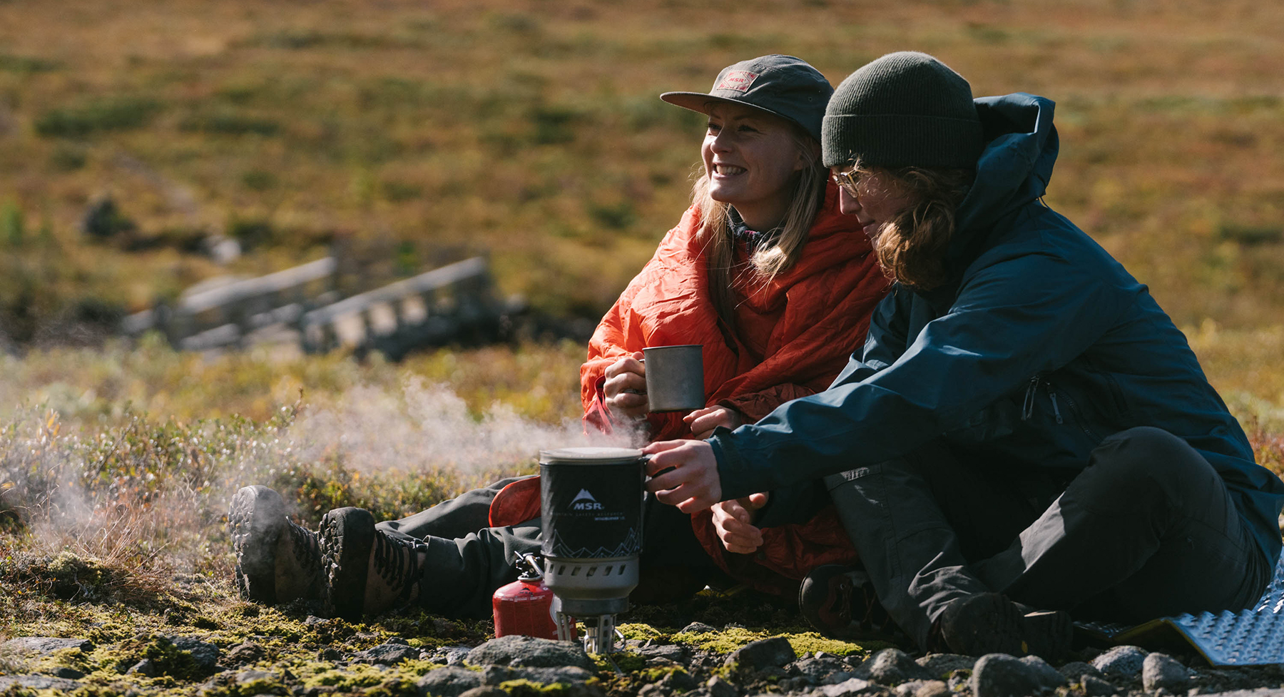 cooking in backcountry