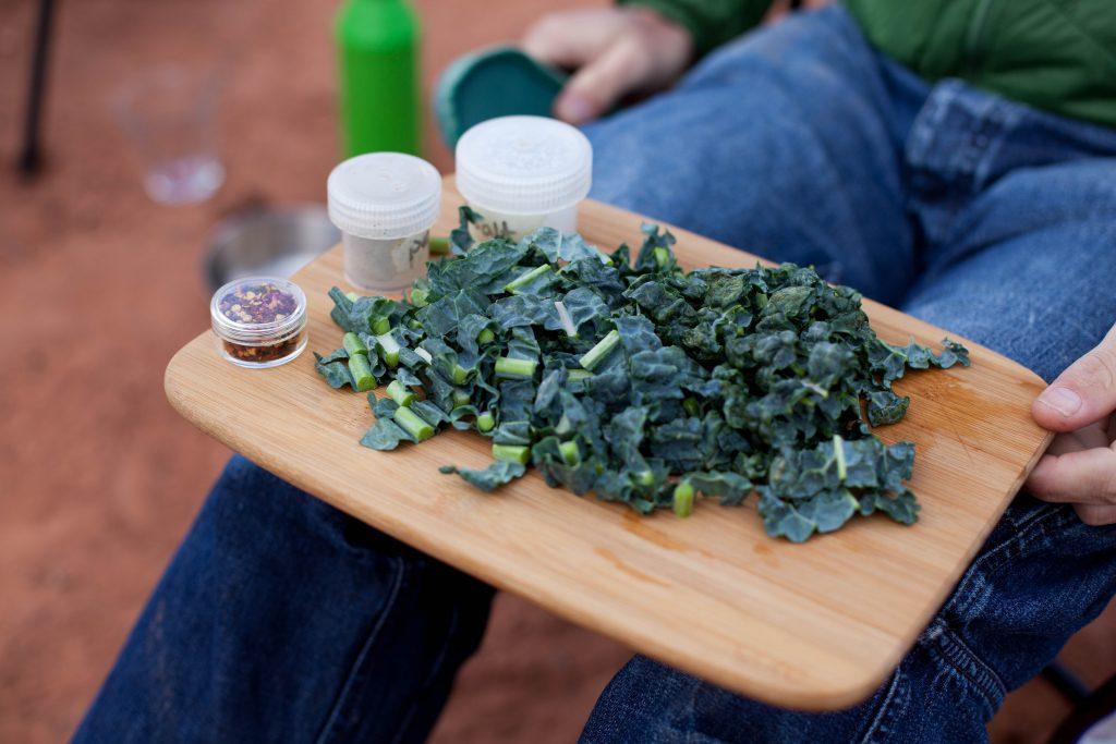 Kale and Smoked Salmon Pasta, Anna Brones