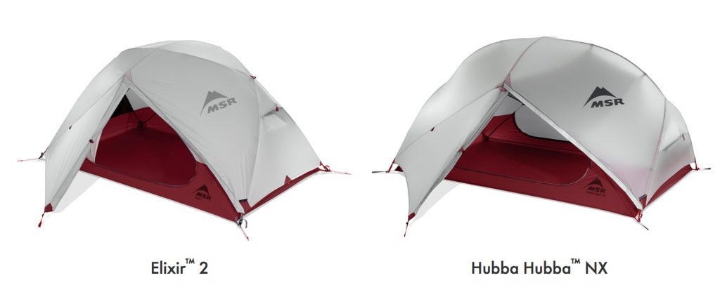 Elixir™ vs Hubba™  sc 1 st  The Summit Register & Is a Hubba™ or an Elixir™ Series tent right for you? - The Summit ...