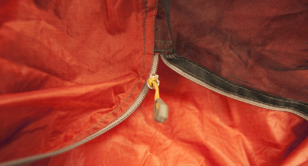 MSR Tent Care - broken tent zipper