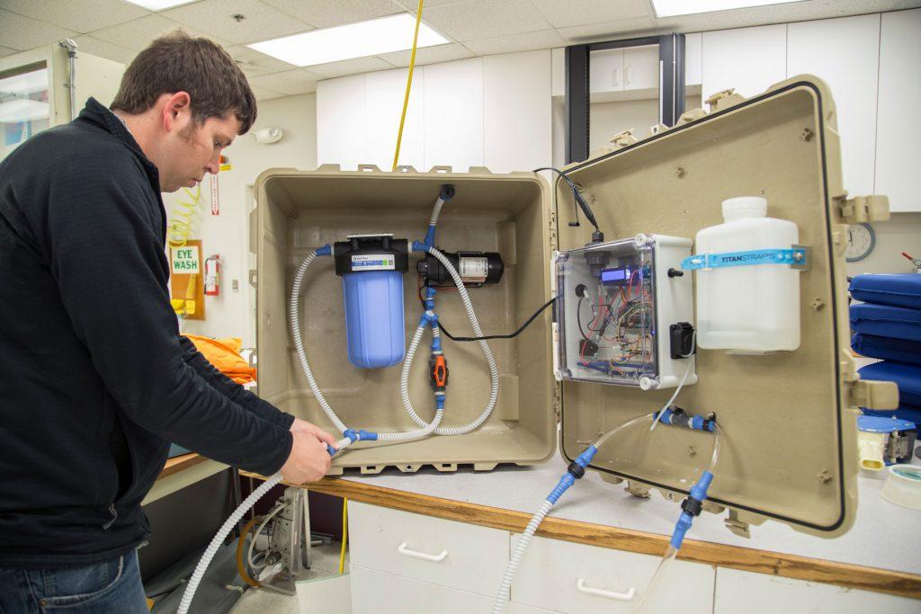 MSR water purifier R&D