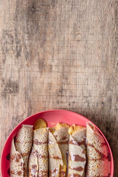 Jen Sotolongo - Vegan Pumpkin Spice Crepes