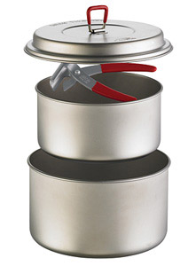 backpacking cookware materials Titanium Titan 2