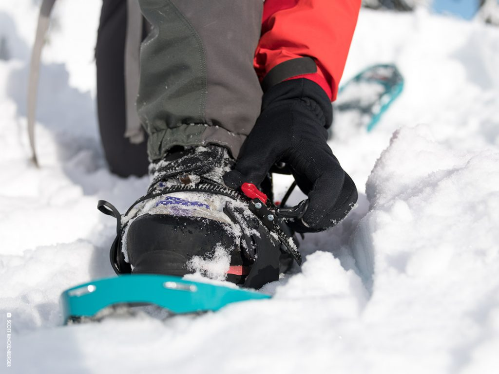 Perfecting Your Snowshoe Binding Fit The Summit Register