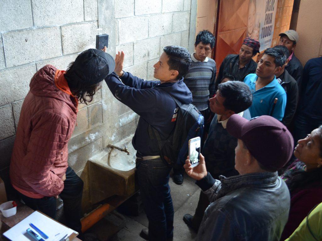 MSR Global Health - Testing Water at Tecpán School