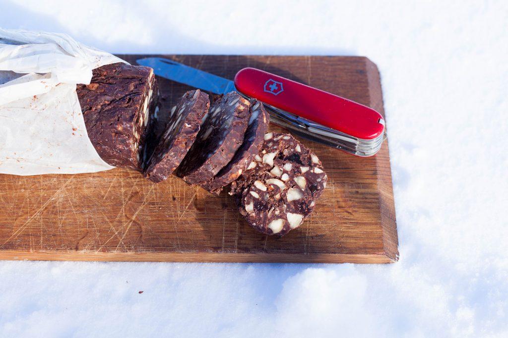 Anna Brones - Chocolate Salami Recipe
