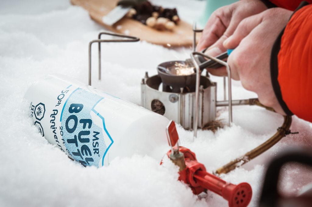 advantages of liquid fuel stoves in cold weather