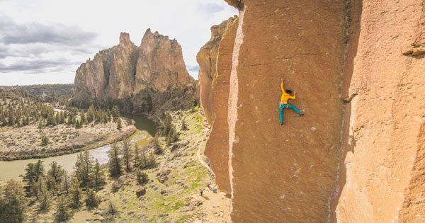 Nina Caprez MSR Athlete - Smith Rock