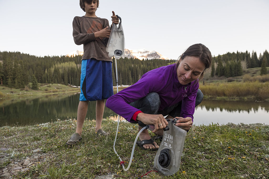 group camping water treatment system