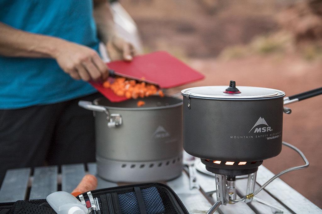 windburner group camping stove