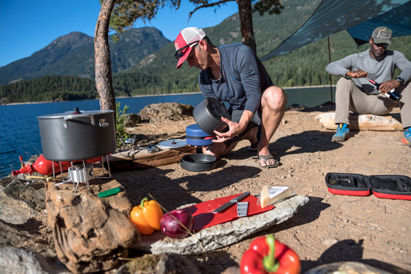 Best Gear for Group Camping MSR Flex 4 Cook Set
