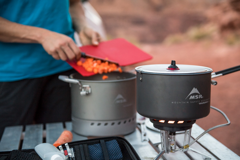 Best Gear for Group Camping MSR WindBurner Stove System