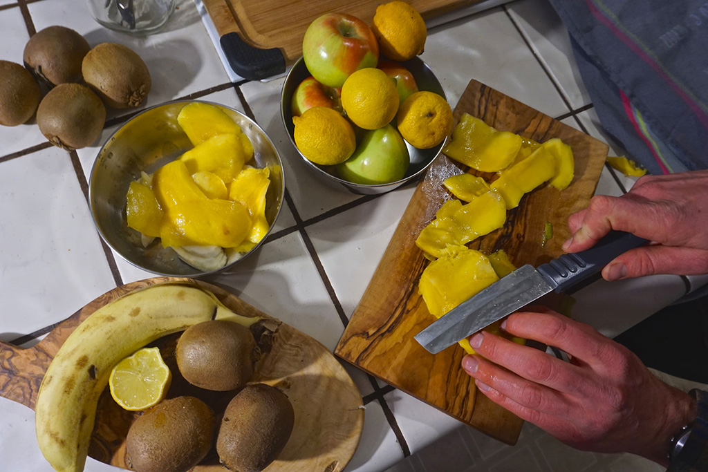 dehydrated mangos backpacking meals