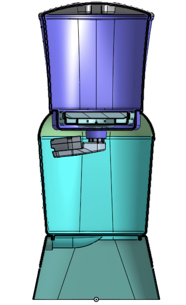 MSR household water treatment system