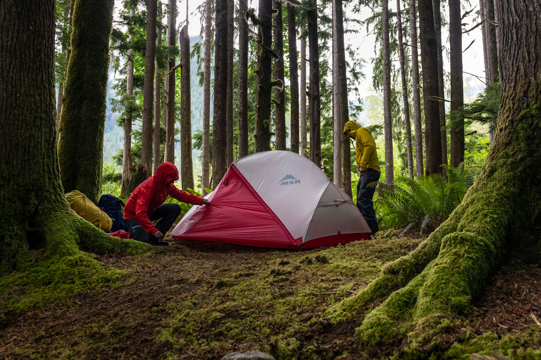 MSR blog 3 Season vs 4 Season Tents | Photo by Scott Rinckenberger
