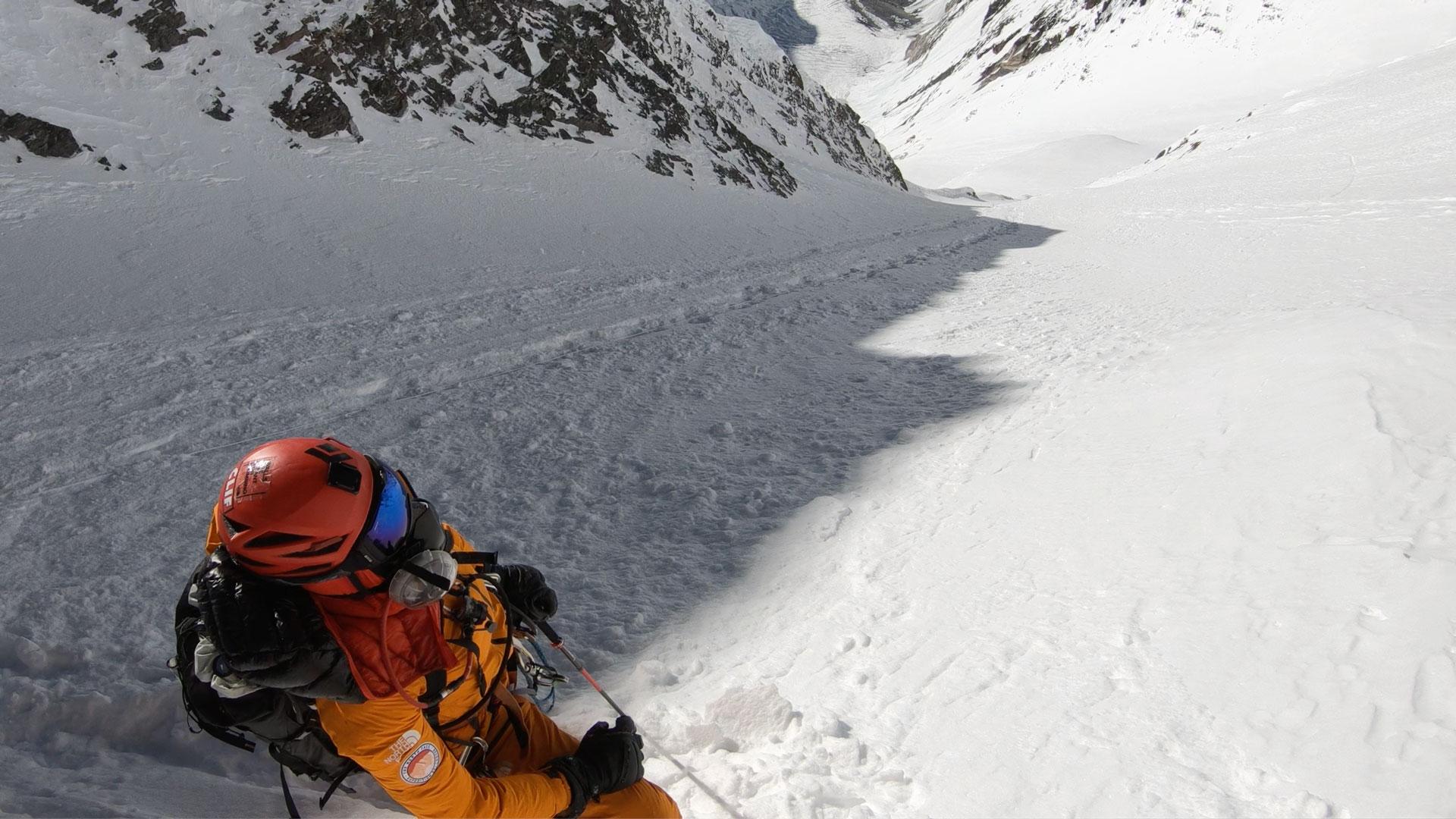 Hilaree Nelson Lhotse Dream Line