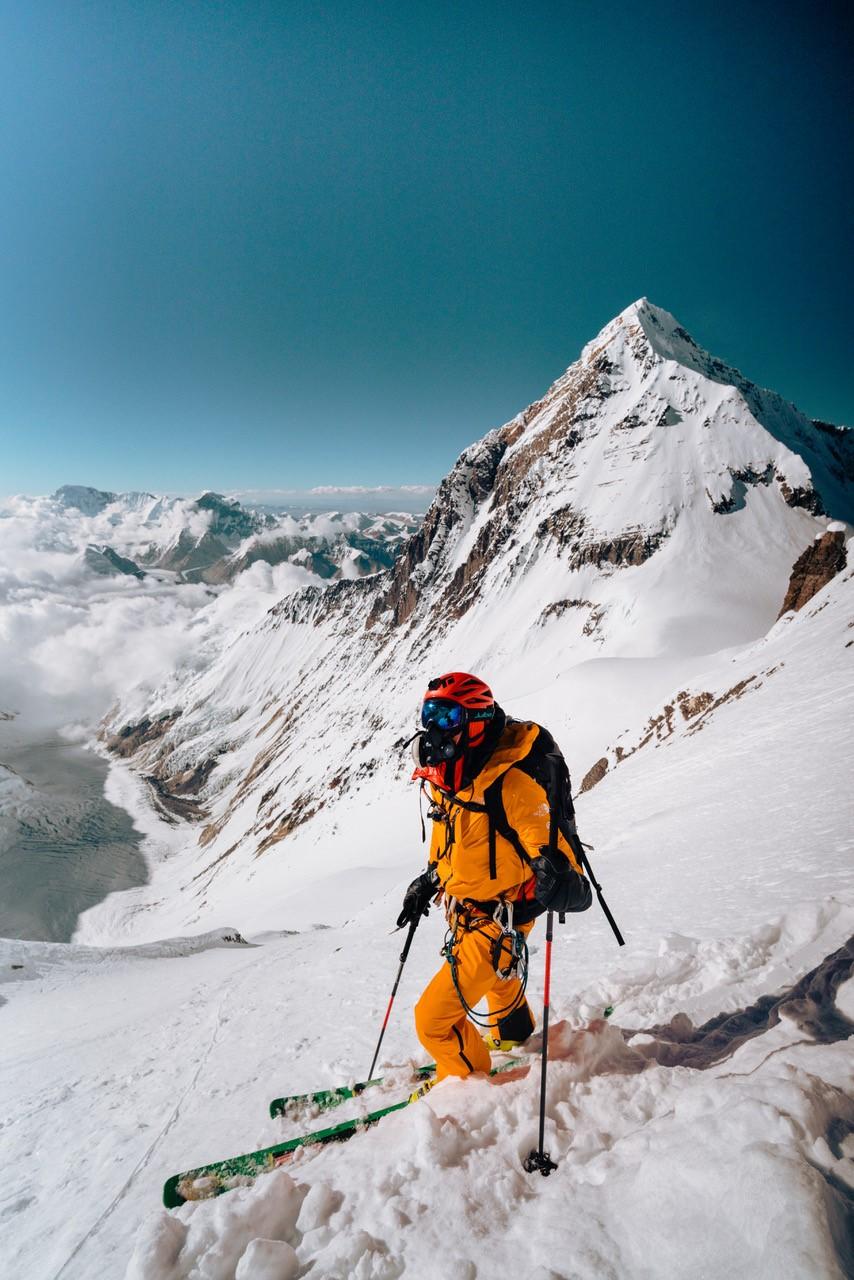 Nick Kalisz - Hilaree Nelson Lhotse Dream Line MSR blog 05