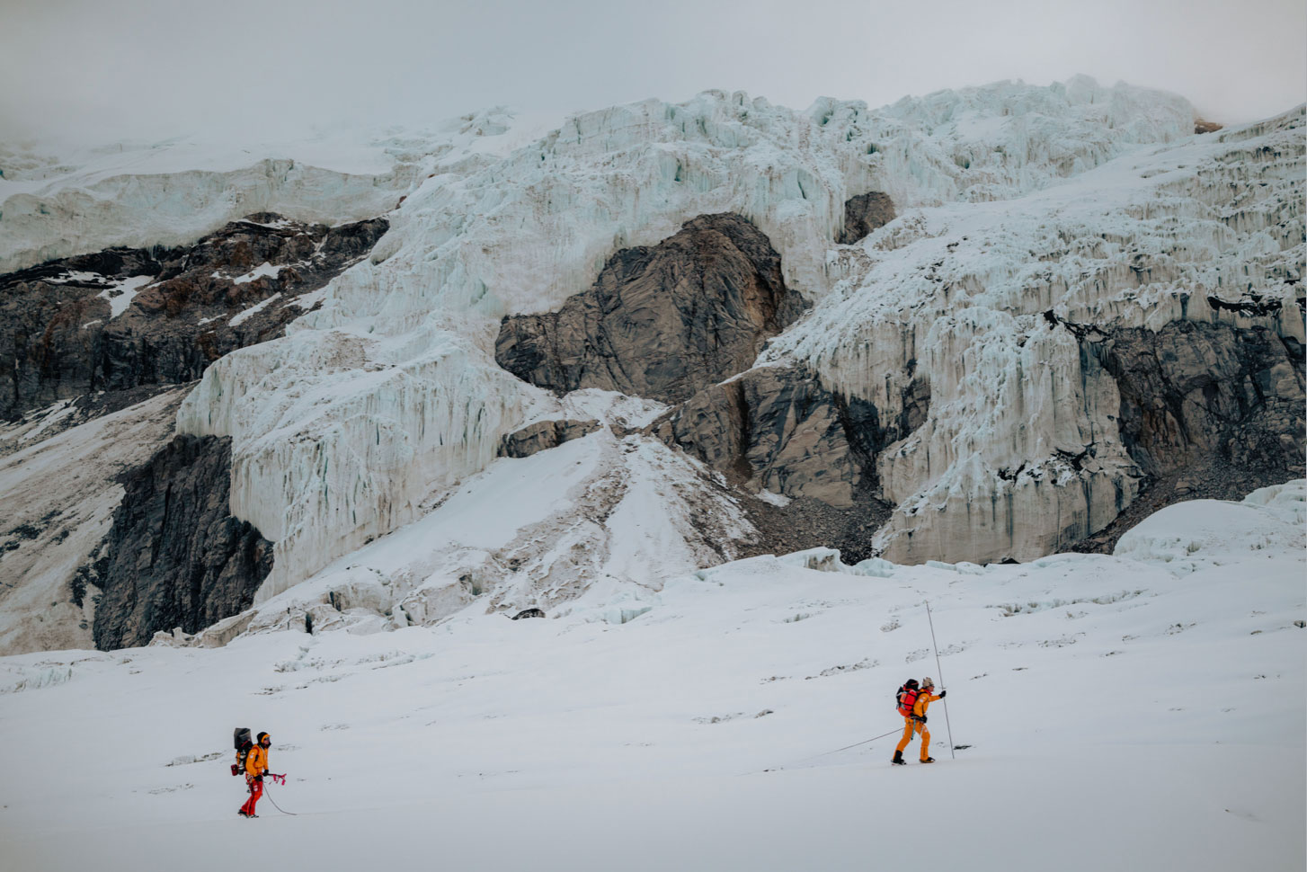 Nick Kalisz Hilaree Nelson Dutch Simpson North Face MSR Lhotse