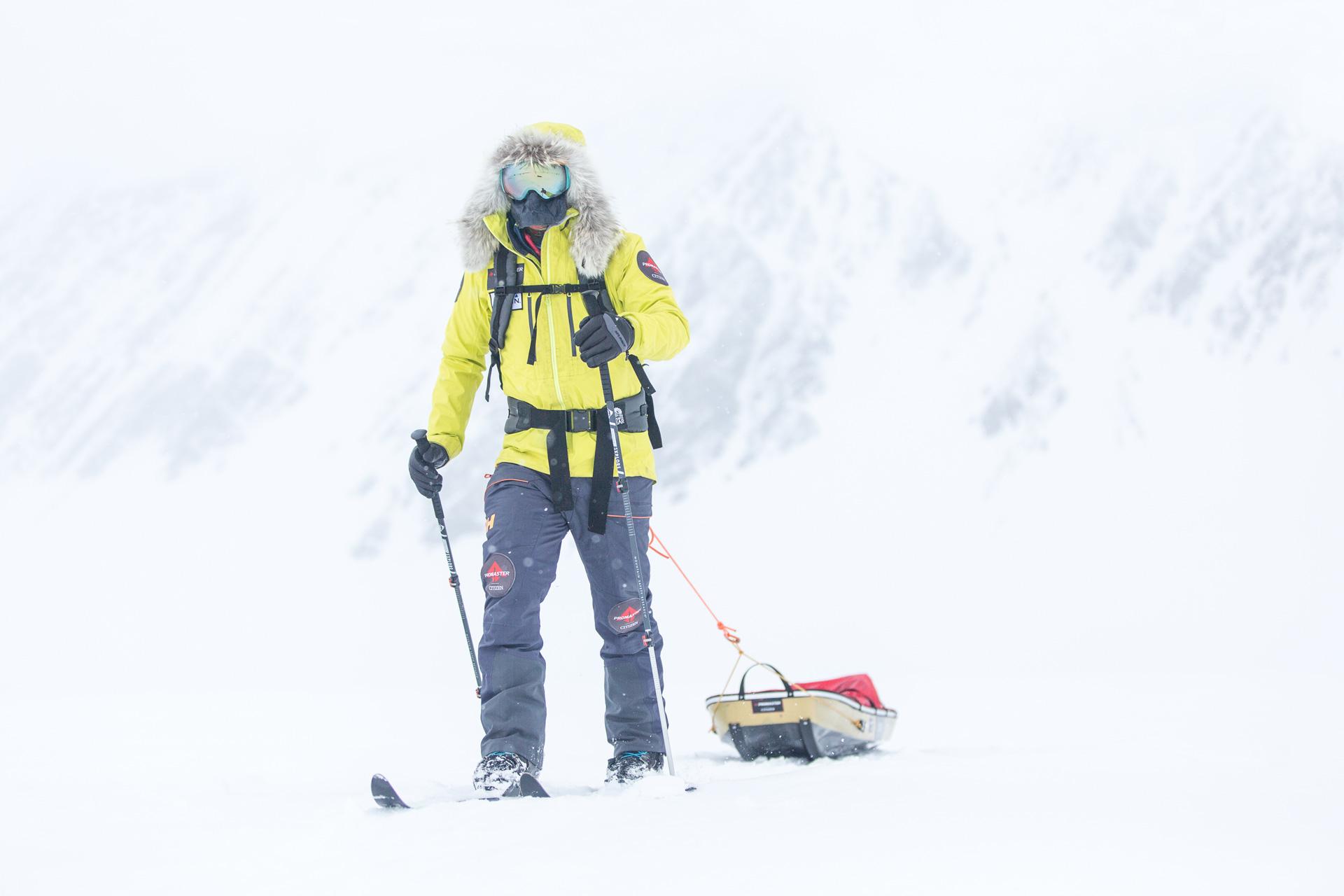 Eric Larsen Antarctica MSR blog