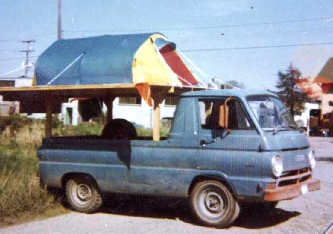 MSR Tent Testing 1973